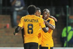 Parker Nkatha and Maluleka celebreating
