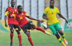 Angola vs Bafana Bafana
