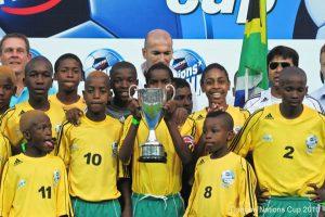 Zinédine Zidane Danone SA Team