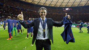 Luis Enrique FC Barcelona coach